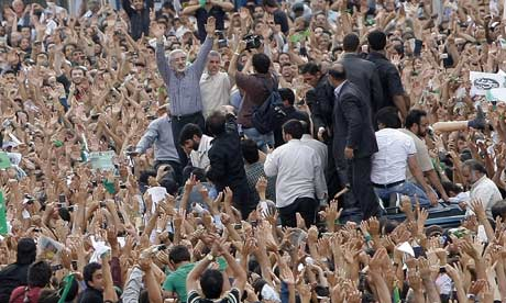 Mousavi at June 15 rally